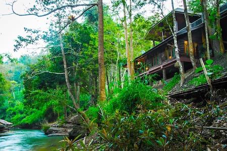 Riverside Lanna Room in Jungle, Chiang Mai - Mae Wang