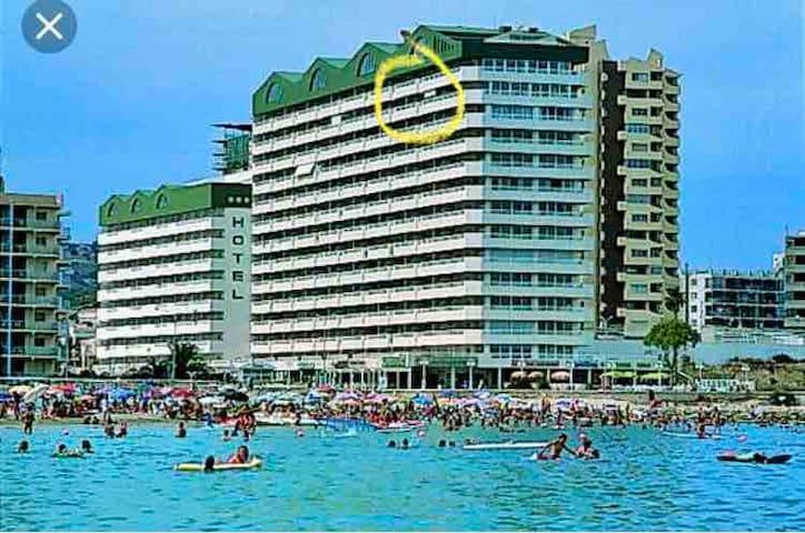 Calpe playa fosa, piscinas, aire, vistas, WIFI