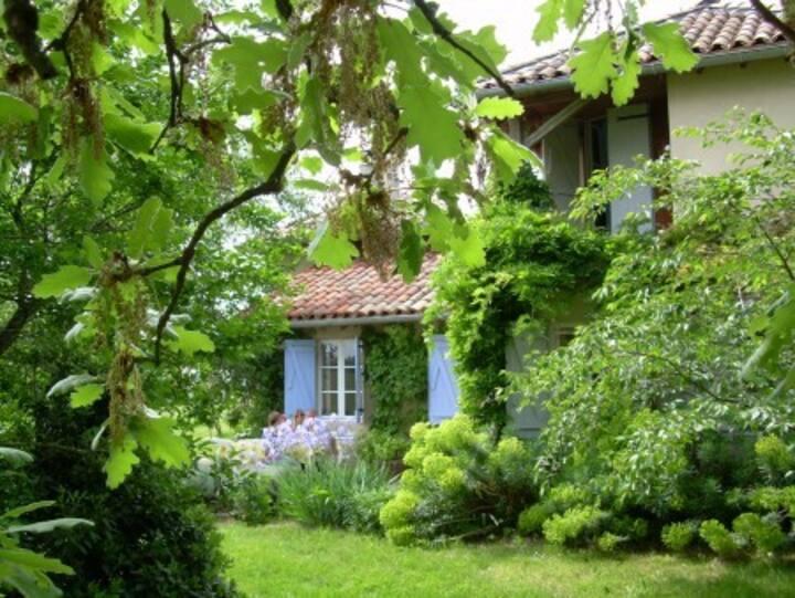 Little dream castle near Pyrenees