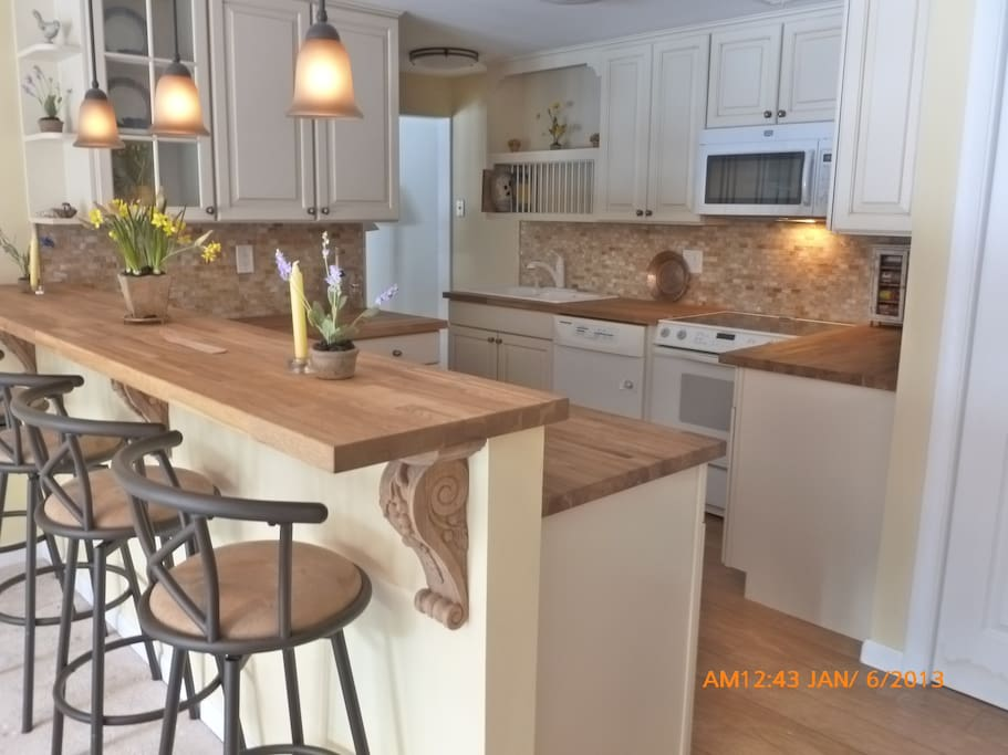 Lovely, fully equipped kitchen