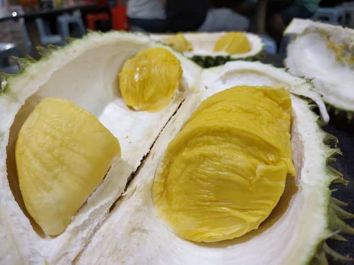 We can even try Durian if in season