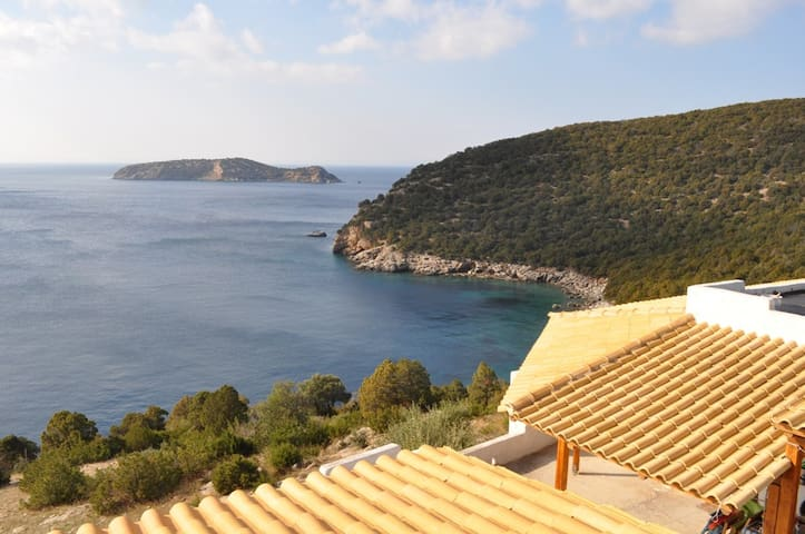 Beach house Evia island - Πόρτο Λάφια - บ้าน
