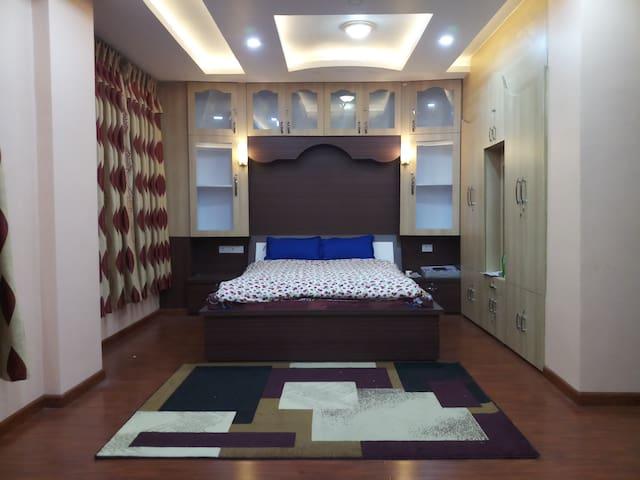 Deluxe room at Hetauda