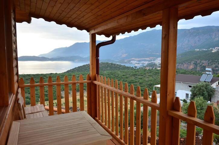 Kas bungalov dağ evleri