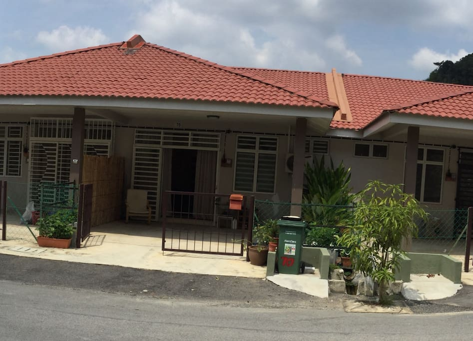 The small villa from outside