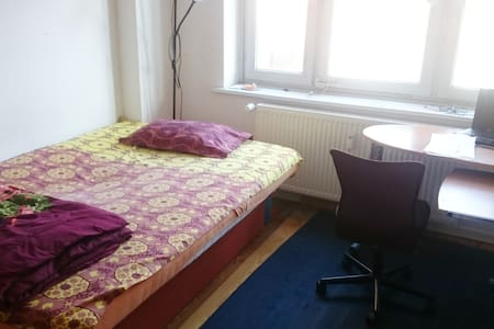 Comfortable room in a friendly apartment - Hamburg - Wohnung