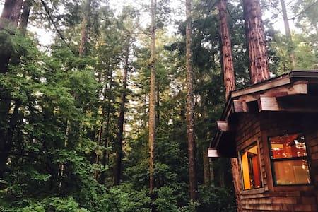 Woodside vacation home at Anchor Bay. - Gualala - Casa