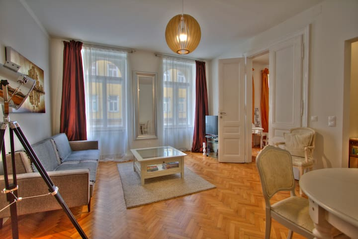 Stylish, relaxing and well-located Viennese flat