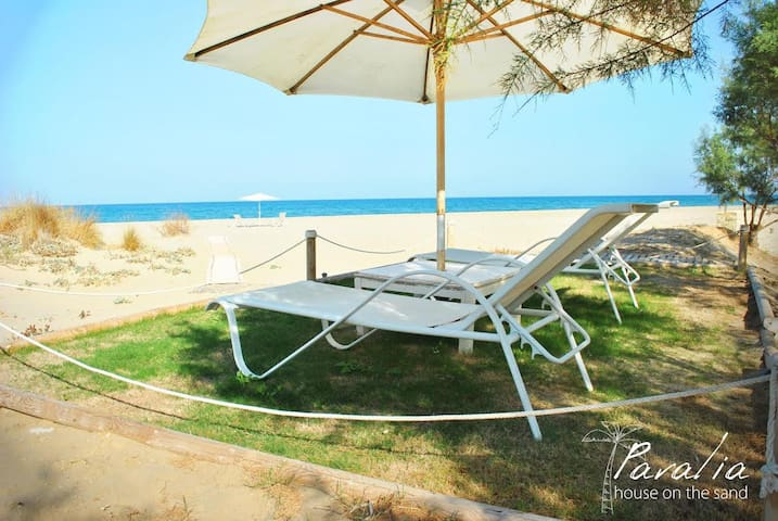 Paralia up to the sand new - Rethimnon - Huis