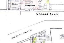 PLANS - GROUND LEVEL AND TERRACE
