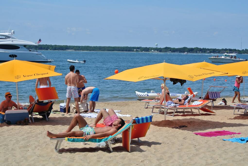 Enjoy the St. Tropez vibe of Sunset  Beach