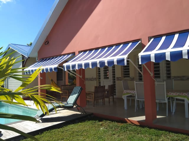 Little creole Cottage, 3 bedrooms house with pool