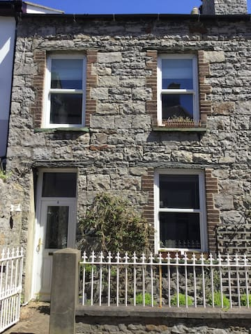 Double/Twin Room in Old Manx Stone Cottage - Castletown - Haus
