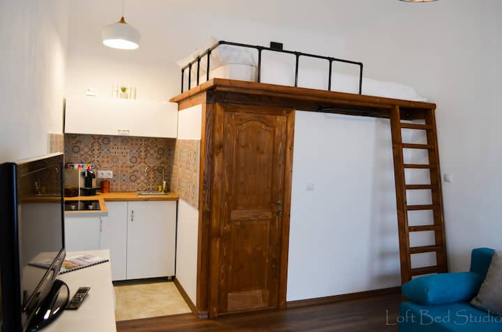 Loft Bed Studio.Discover the beauty of Brasov
