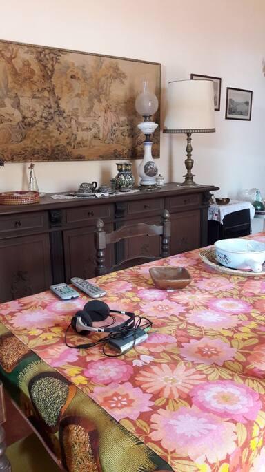 Living room sala da pranzo colazione