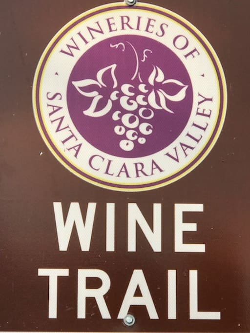 Estate is ON the wine trail and very popular Cycling route