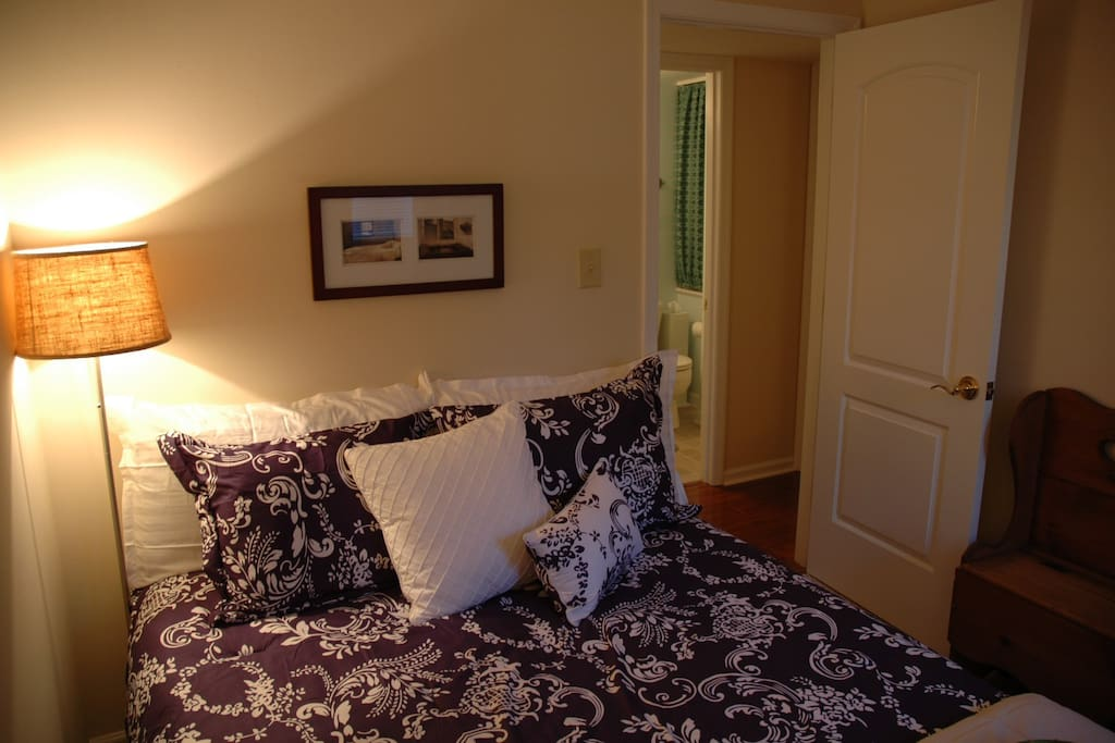 Warm and inviting, heat in the winter and AC in the summer!