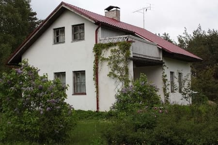 Countryhouse with natural pool and garden . - Kaarma Parish