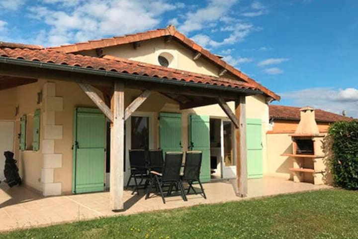 Garden-View Holiday Home in Les Forges with Terrace