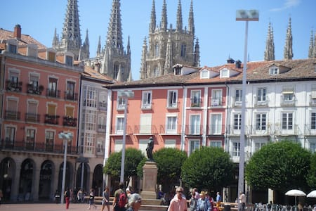 Disfruta desde la Plaza Mayor de Burgos - Burgos - Apartment