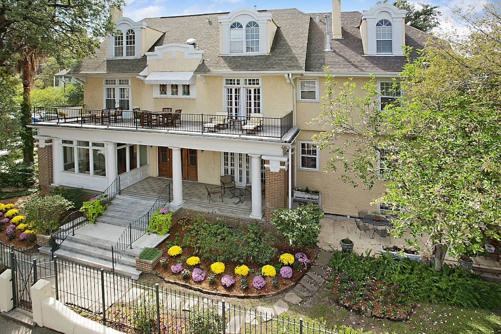Mansion In The Garden District Apartments For Rent In New Orleans