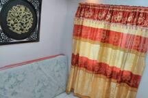 Room no 1 - 2 twin size bed foam