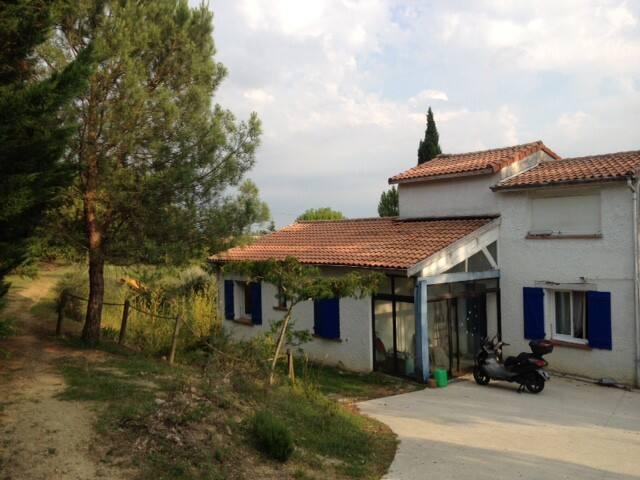 MAISON AVEC BEAU JARDIN aux portes de Toulouse - Montastruc-la-Conseillère - Casa