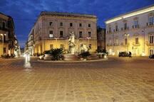 Ortigia, Piazza Archimede