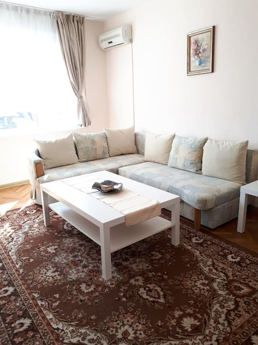 Living room/sofa bed for 2 persons