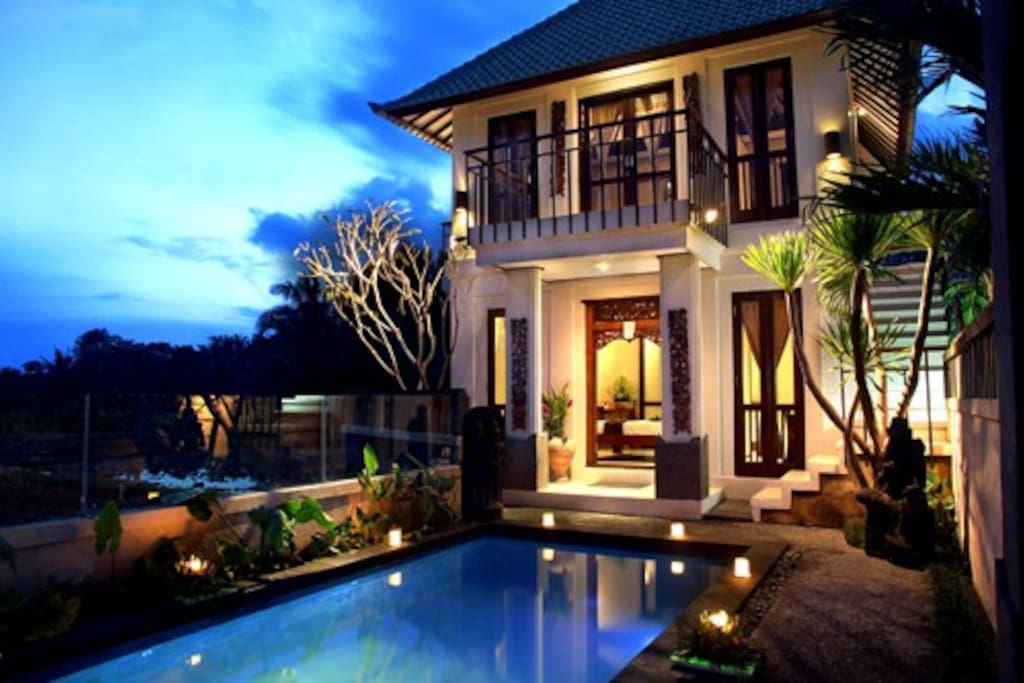 View Front Of Villa