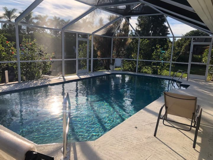 Quiet 3BR Ranch w/ Pool & Canal for Non-Smokers