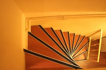 stairs within the duplex - a bit narrow not suitable for very young kids and elderly guests