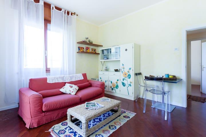 Ampio appartamento con scoperto