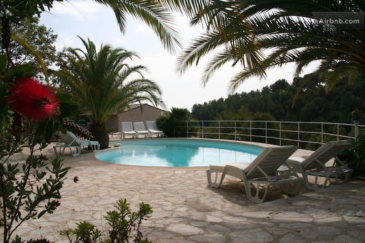 #Cannes Near Pool Sauna Jacuzzi Lux - Roquefort-les-Pins - Villa