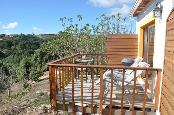 NEW near Obidos renovated stables studio with deck - Óbidos Municipality - Huoneisto