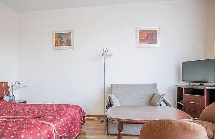 Apartament w Kołobrzegu w budynku ETNA