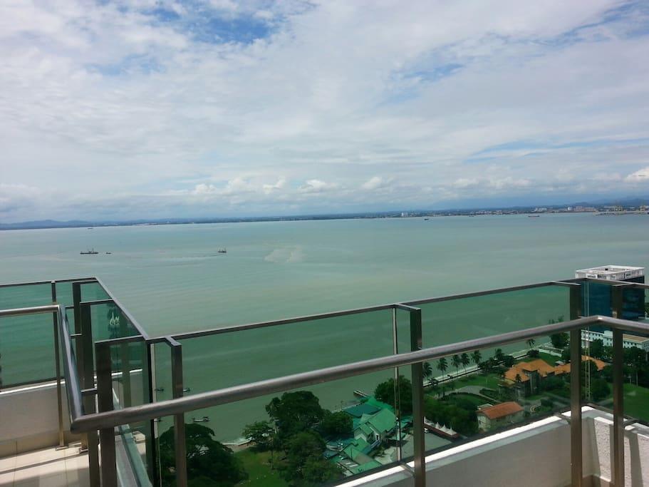 Fantastic Sea View from big balcony