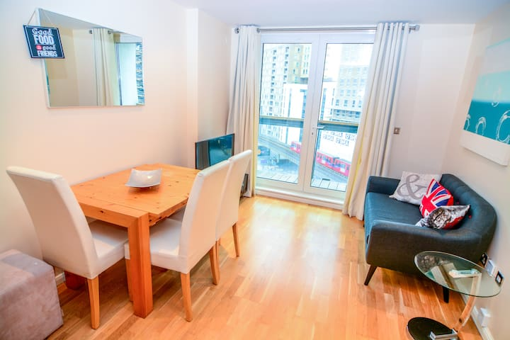 2 Double Bedroom Canary Wharf-2043 - London - Apartment
