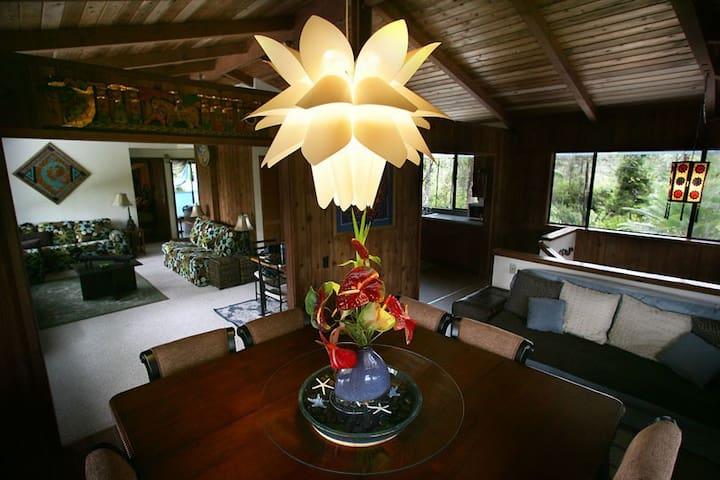 HawaiianJungleHangout - Keaau - House
