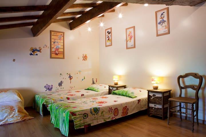 la chambre « Pitchoune » - Languedoc-Roussillon - Bed & Breakfast