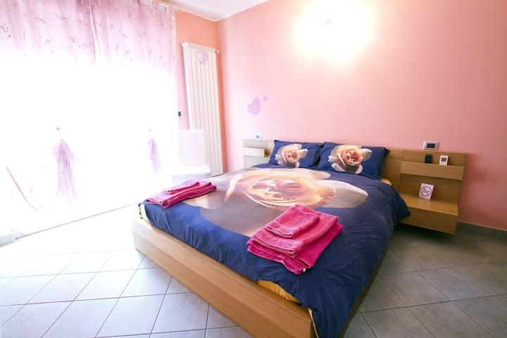 Malpensa Garden -Roseflower room