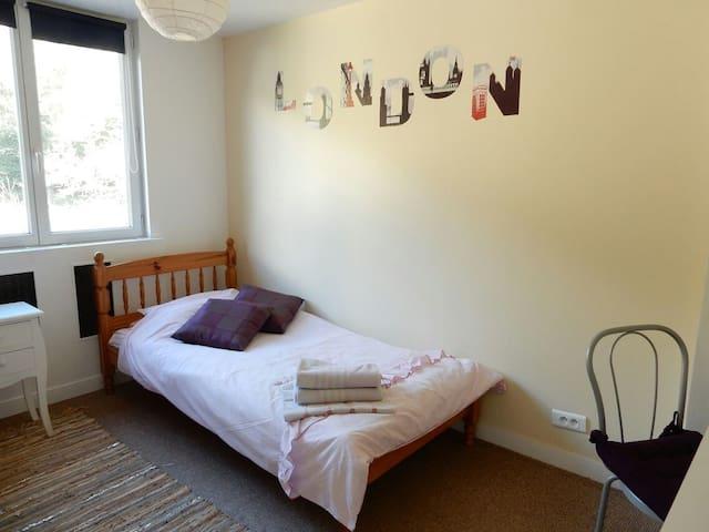 Chambre avec vue sur le jardin - Port-Launay