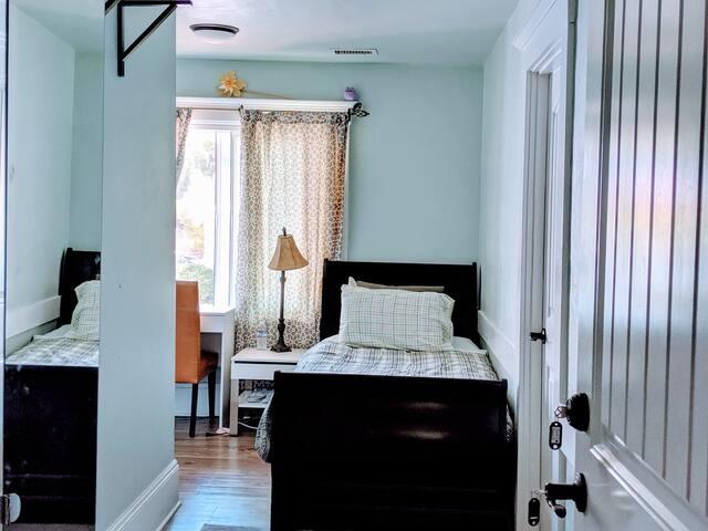 simple single room