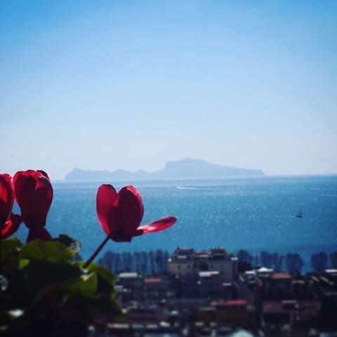 Attico sul golfo di Napoli