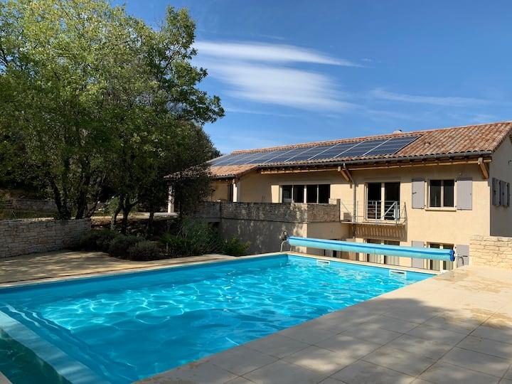 Villa de La Fontette - Gîte en Ardèche - 8 hôtes