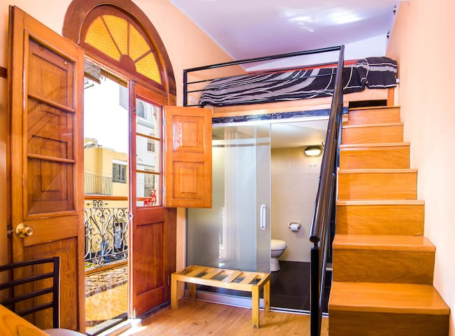 Audacious and Cosy Double Room @LeFoyerAQP