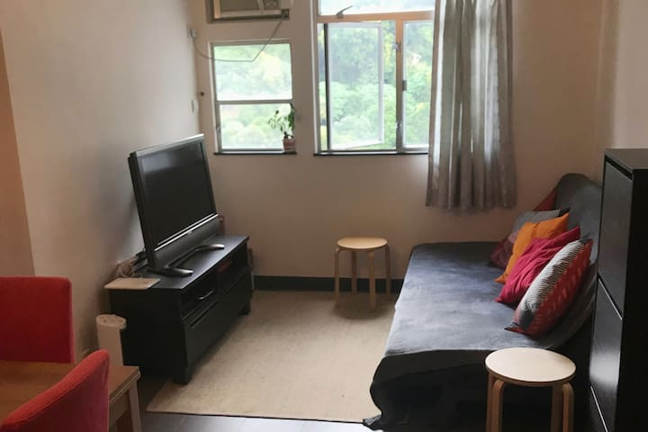 Comfy 2BR apt. HK island, great access to city