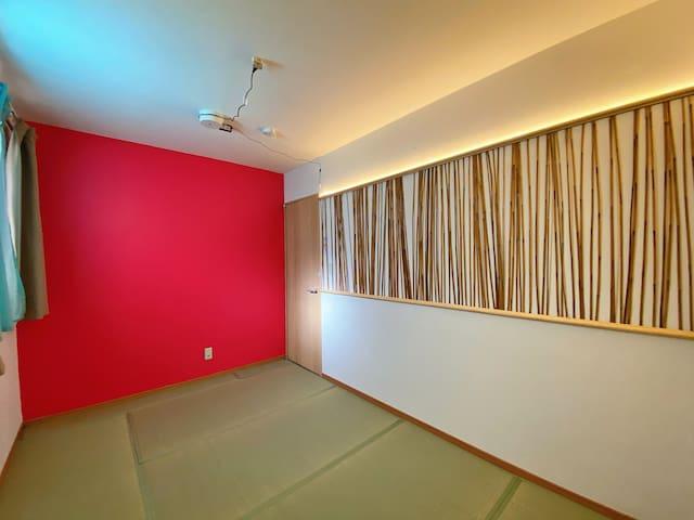 2階の寝室 2 Bedroom 2 on the 2nd floor