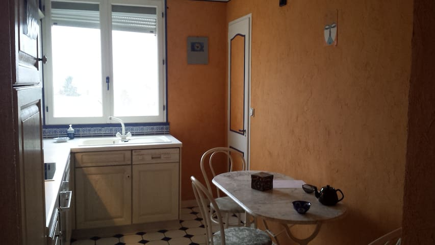 Appartement simple avec vue dégagée - Besançon - Apartemen