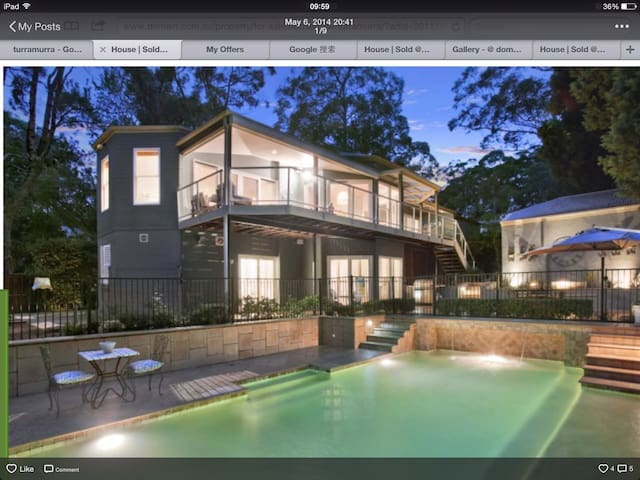 This home runs on love, feel unique - Turramurra - Huis